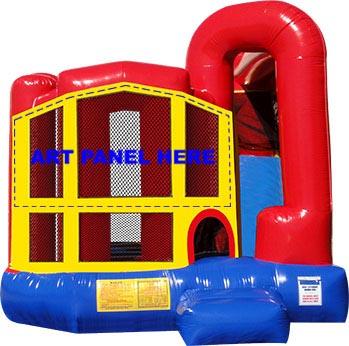 Themed Bounce w/ Slide